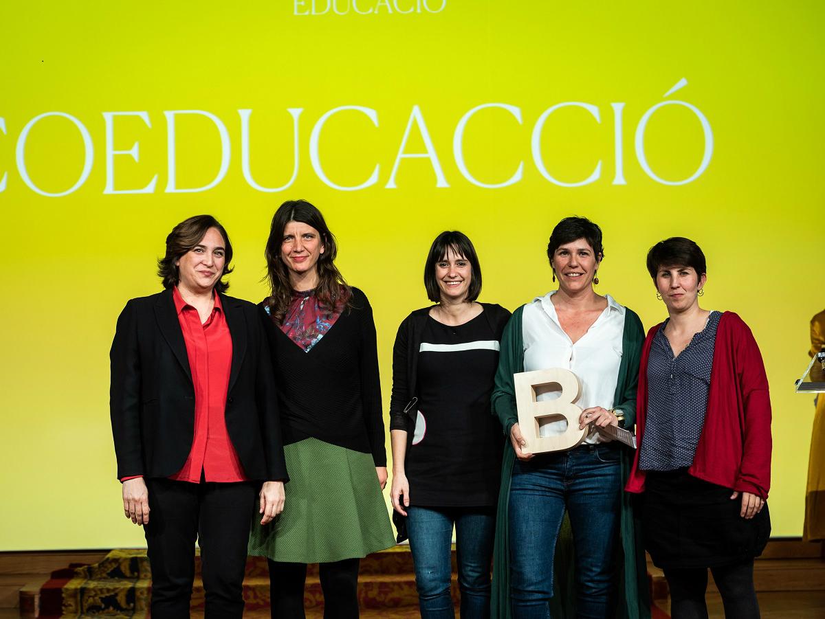 Premi Ciutat de Barcelona Educació 2018